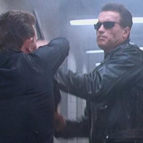 The T-800 and T-1000 reunite at this year's Emmy Awards