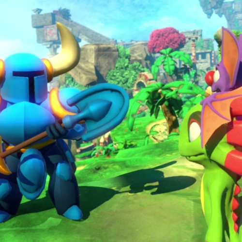 Shovel Knight will be in Yooka-Laylee