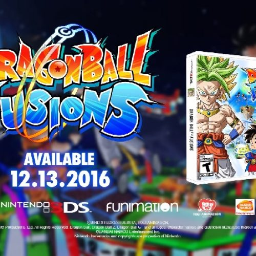 Dragon Ball Fusions is coming December 13