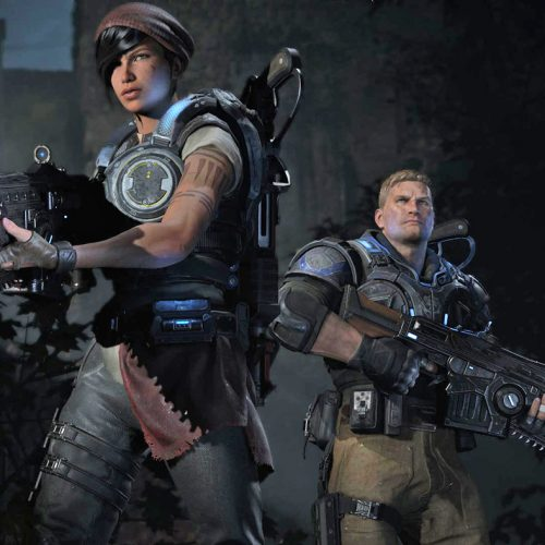 Gears of War 4 will feature split-screen co-op on PC and cross-play with Xbox One