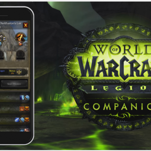 Legion companion app for World of Warcraft coming soon