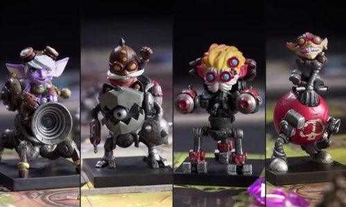 Riot introduces Mechs vs. Minions, a cooperative tabletop game