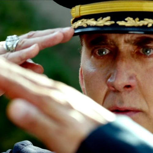 A tale of sharks, bombs, and Nicolas Cage in 'USS Indianapolis: Men of Courage' trailer