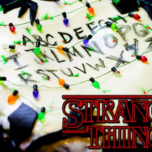 Bake this Stranger Things Upside Down cake