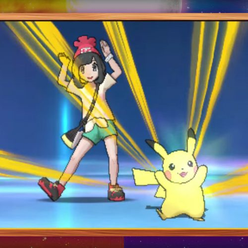 Pikachu's Z-move Dance in Pokemon Sun/Moon is 100% fire