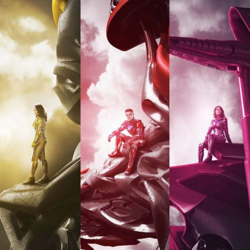 Zords teased in new Power Rangers character posters
