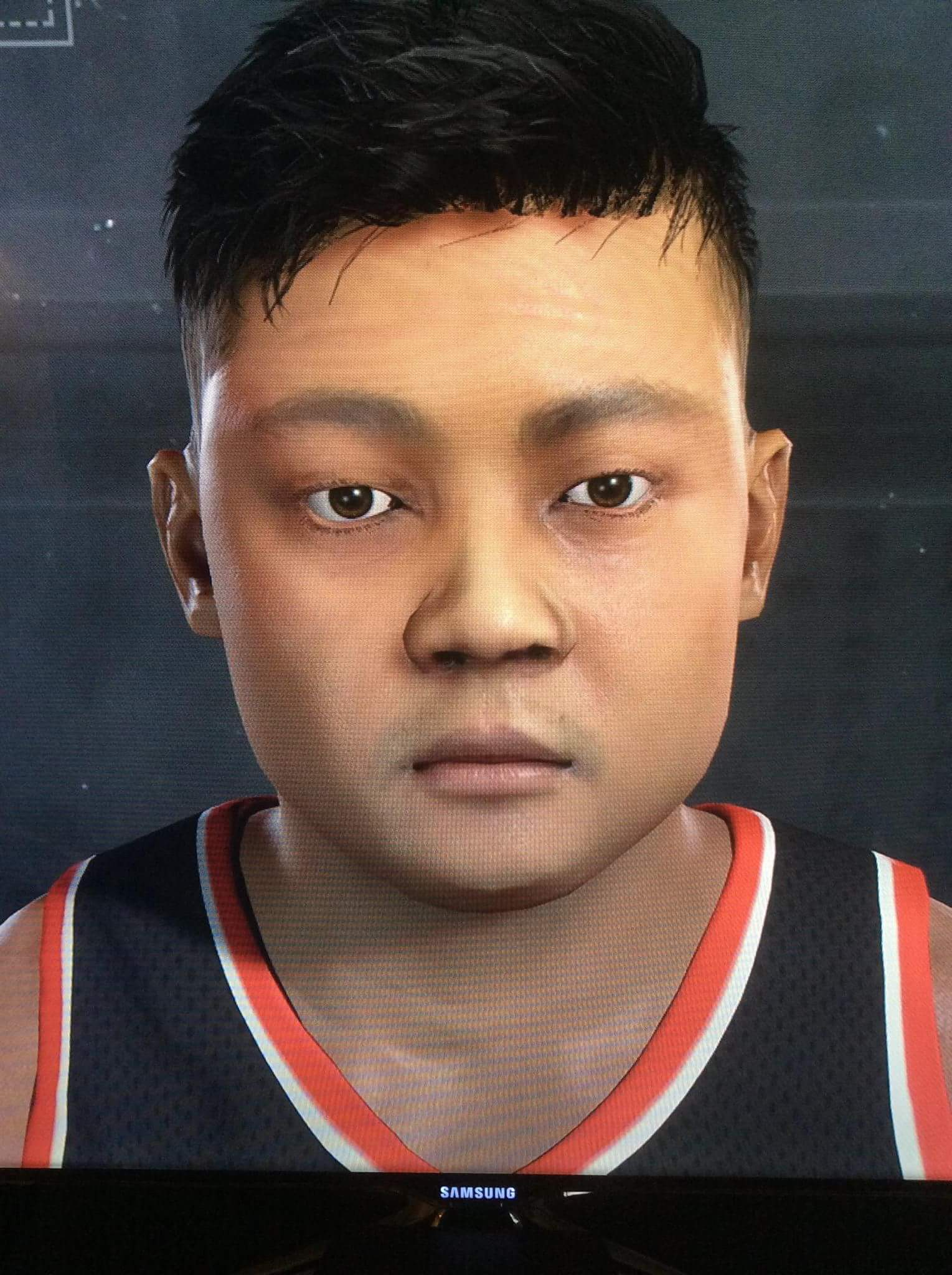 my 2k17 face scan