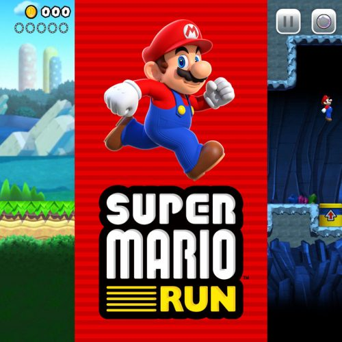 Shigeru Miyamoto shows off while showing off Super Mario Run
