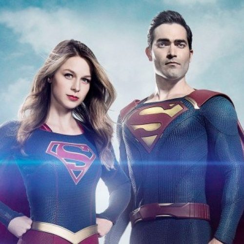 Supergirl teams up with Superman in new promo