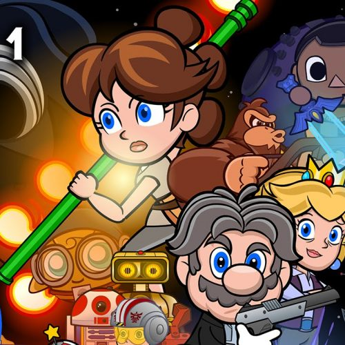 Nintendo characters invade Star Wars: The Force Awakens with mashup video