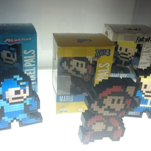 Mario, Mega Man and Vault Boy are coming as collectible pixel figures