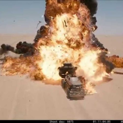 Mad Max: Fury Road without CGI is still shiny and chrome