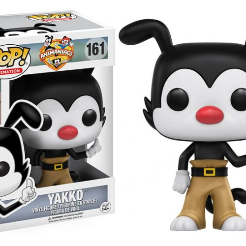 Yakko, Wakko and Dot will be unleashed as Funko Pops next month