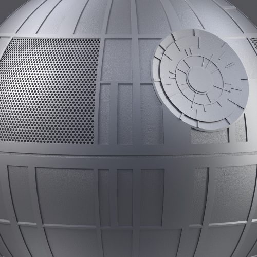 That's no moon. It's a Death Star Bluetooth Speaker!