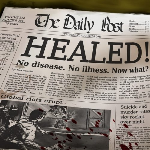 Healed introduces us to a life void of all illness and disease