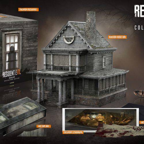 GameStop's Resident Evil 7 Collector's Edition comes with replica music box