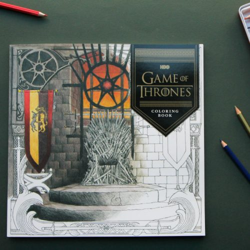Winter is coming… and so is the new Game of Thrones coloring book