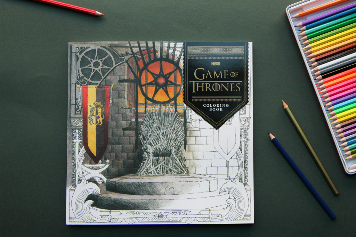 Winter Is Coming And So The New Game Of Thrones Coloring Book