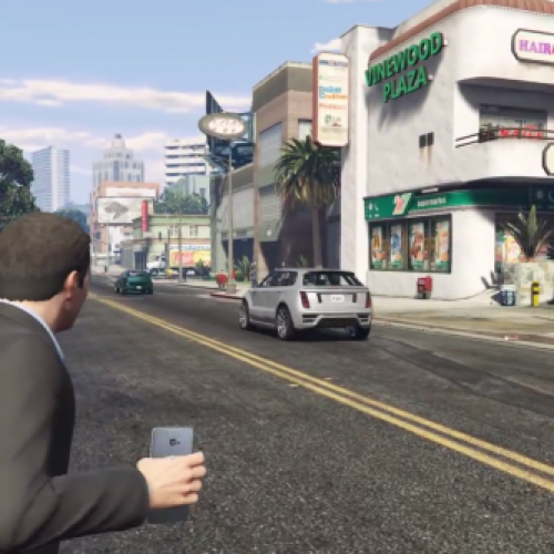 Samsung Galaxy 7 gets weaponized in GTA V Mod