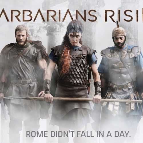 History's Barbarians Rising (DVD review)