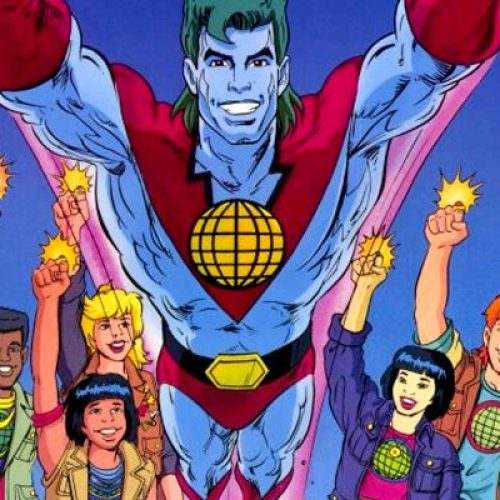 Leonardo DiCaprio working on Captain Planet movie?