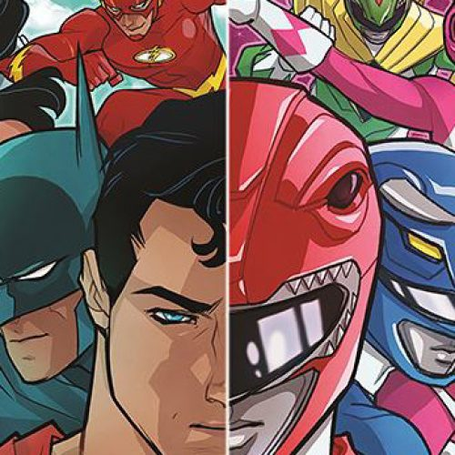 Justice League/Mighty Morphin Power Rangers comic book crossover comes in January!