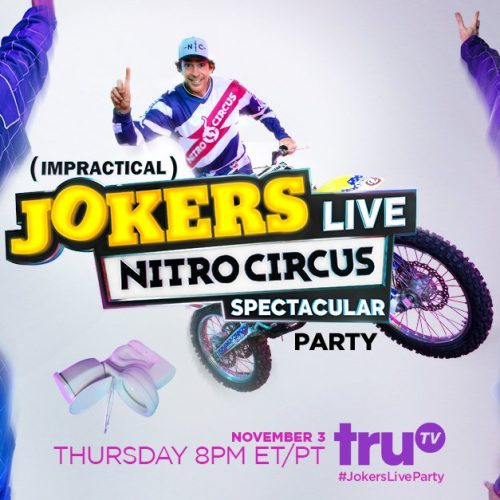 Win an Impractical Jokers Viewing Party Package!