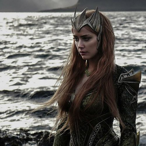 Amber Heard as Mera revealed in new Justice League photo