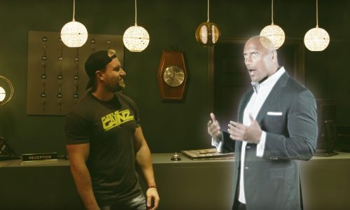 The Rock's ghost brings YouTubers together in a seance