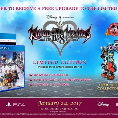 Kingdom Hearts HD 2.8: Final Chapter Prologue Limited Edition announced