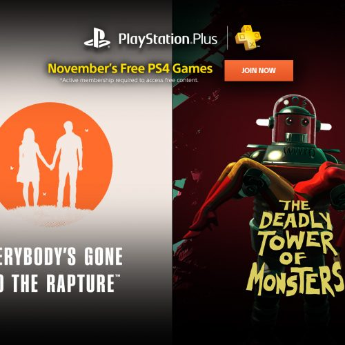 PlayStation Plus free games for November