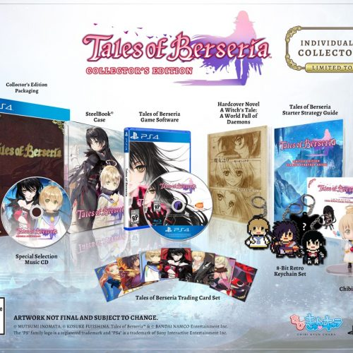 Tales of Berseria coming January 24, Collector's Edition announced