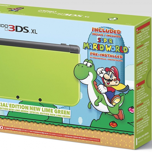 Lime Green Special Edition Nintendo 3DS XL now available