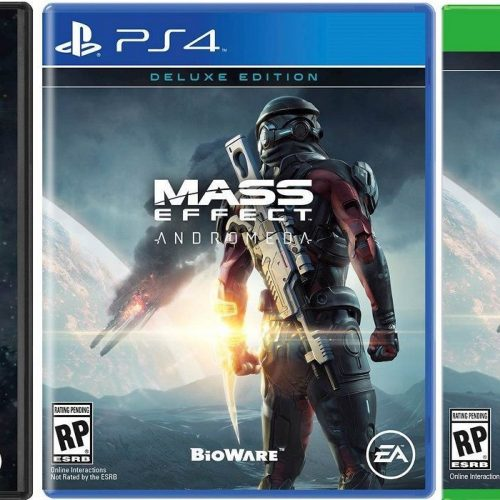 Mass Effect: Andromeda box art and Deluxe Edition details leaked