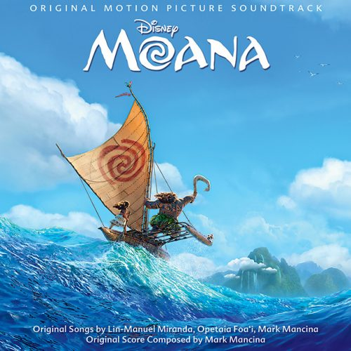 Disney's Moana soundtrack now available on Spotify and iTunes