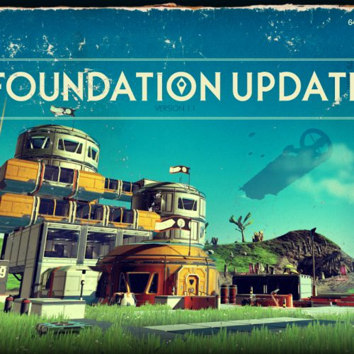 Foundation Update 1.1 live in No Man's Sky