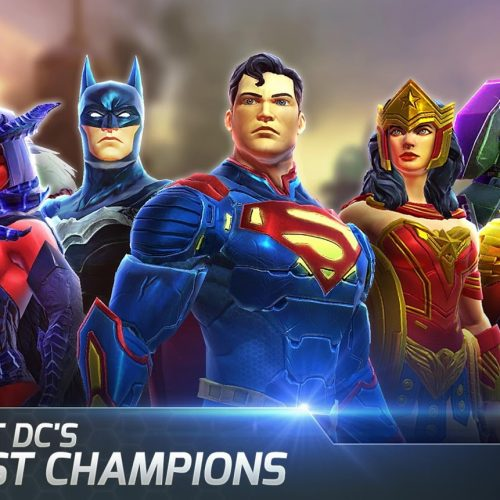 Experience the Blackest Night with the new mobile game DC Legends