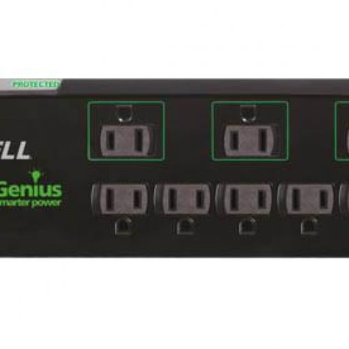 Protect your electronics with the Accell PowerGenius 8 Outlet Surge Protecter (Review)
