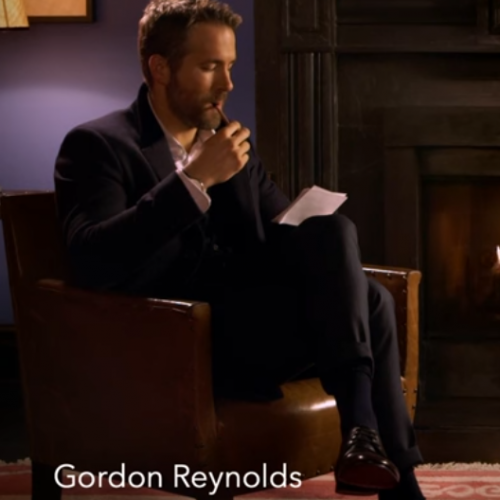 Ryan Reynolds interviewed by his twin brother