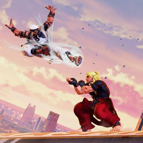 New Street Fighter V stage is here