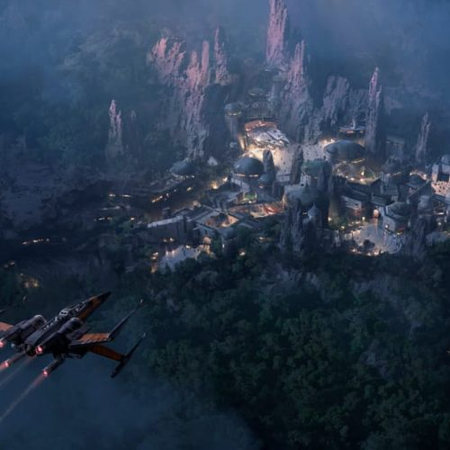 Disney releases new image of the upcoming Star Wars Land