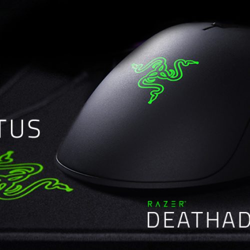 Razer Deathadder Mouse and Gigantus Mouse Pad Review