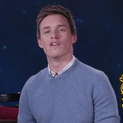 Fantastic Beasts' Eddie Redmayne does a PSA for Hufflepuffs