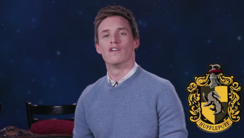 Eddie Redmayne's Hufflepuff PSA Will Break Your Hufflepuff Heart