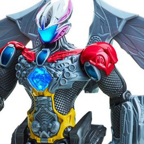 Our first look at the Power Rangers reboot Megazord