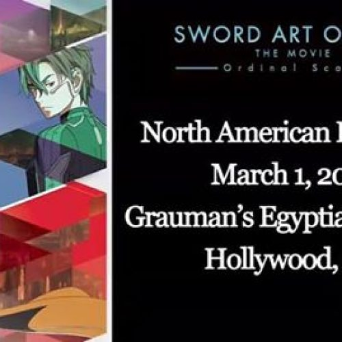 Sword Art Online the Movie -Ordinal Scale- North American premiere set for March 2017