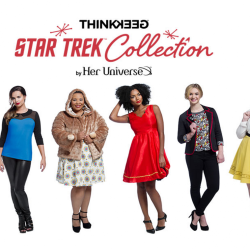 ThinkGeek releases Star Trek-Her Universe collection