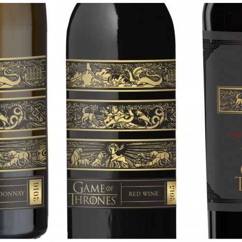 Game of Thrones wines are heading to a cellar near you!