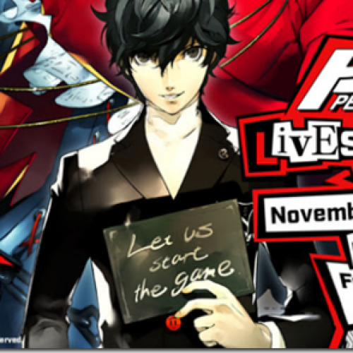 Atlus to live stream Persona 5 English gameplay on November 16