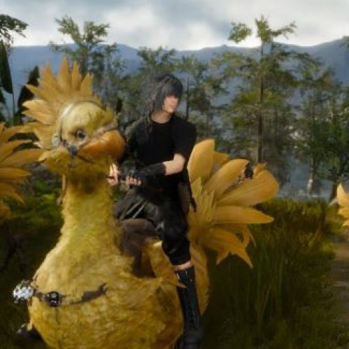 Chocobo Theme lyrics in Final Fantasy XV?